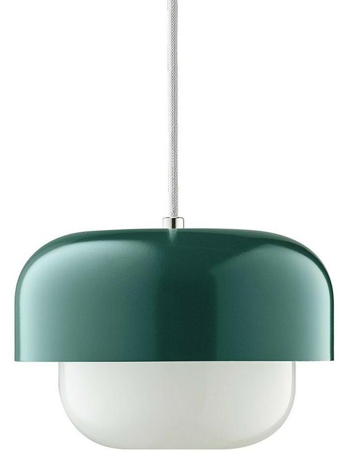 Image of   HAIPOT Pendel Lampe Matsu Mørk Grøn H15 D23