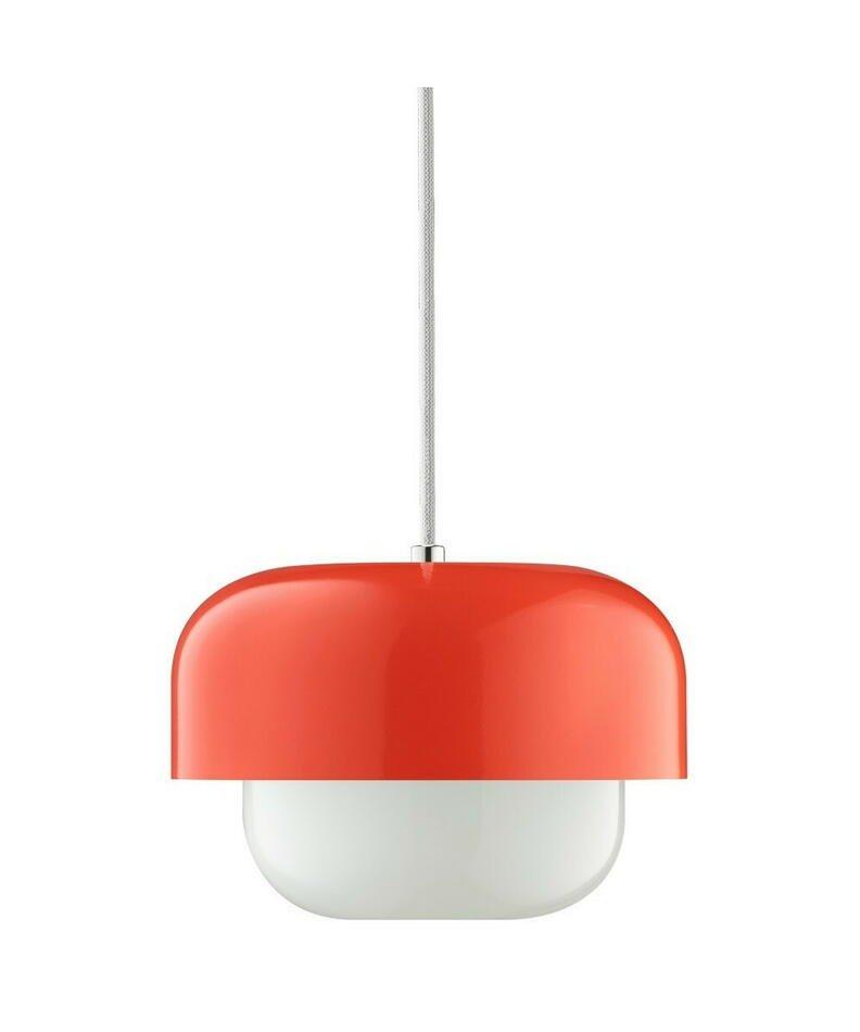 Image of   Haipot Pendel Lampe Kousa Rød H15 D23