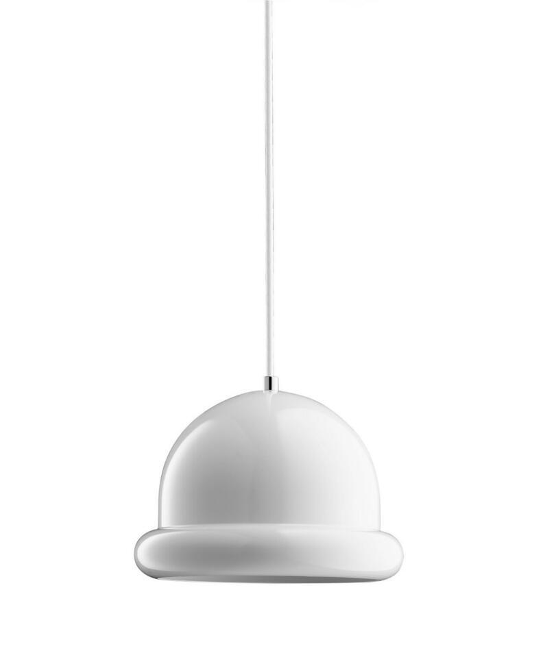 Image of   Hattrick Pendel Lampe Hvid H16 D23