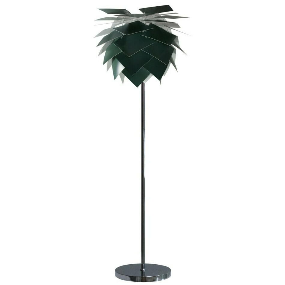 Image of   Pineapple Medium Gulvlampe Mørkegrøn H165 D45