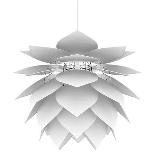 Image of   Illumin Drip/drop Pendel Lampe Hvid H30 D35