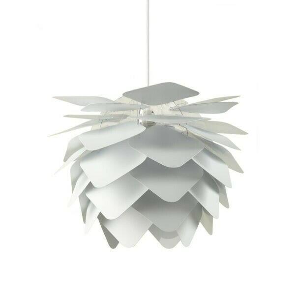 Image of   Illumin Round Square Pendel Lampe Hvid H40 D45