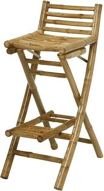 Image of   Bambus barstol