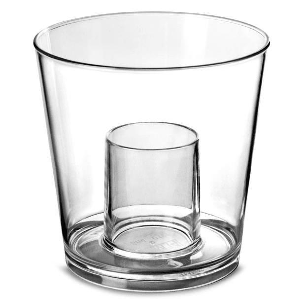 Image of   12 Stk. Jägerbombs Shots Glas Polycarbonat