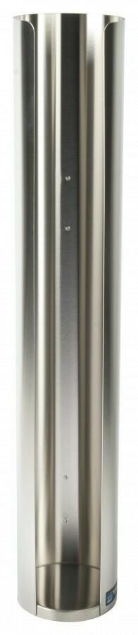 Image of   Dispenser til låg i rustfrit stål 101mm
