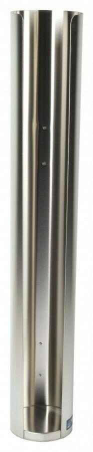 Image of   Dispenser til låg i rustfrit stål 89mm