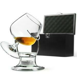 Billede af DRINKSTUFF, Deluxe Cognac Og Brandy Varmer Set