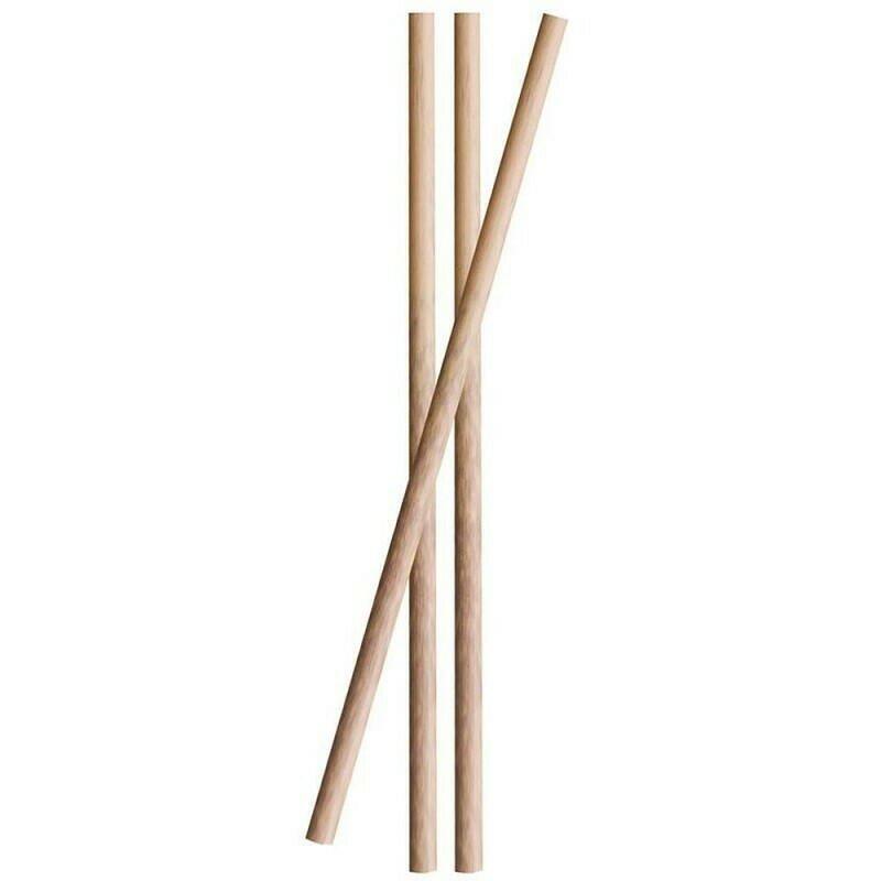 Billede af Sugerør Bamboo 10cm 3ø 25stk.