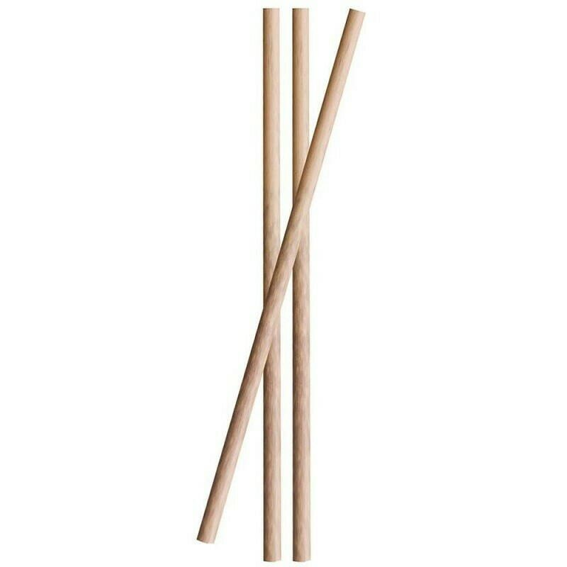 Image of   Sugerør Bamboo 10cm 3ø 25stk.