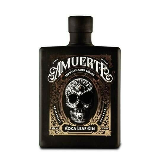 Image of   Amuerte Coco Leaf Gin Black Edt. Fl 70