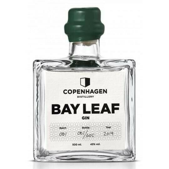 Image of   Copenhagen Distillery, Bay Leaf Gin Fl 50