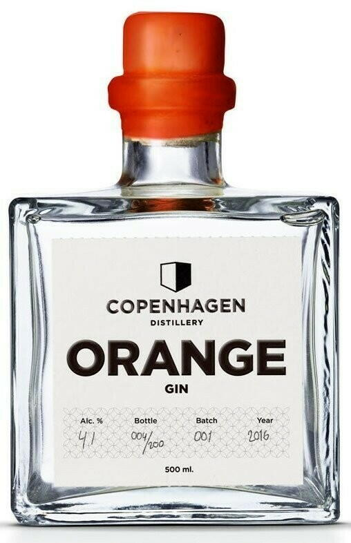 Image of   Copenhagen Distillery, Orange Gin Fl 50