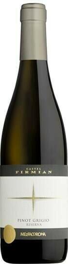Image of   Mezzacorona Castel Firmian Pinot Grigio Riserva 14 0,7 liter5 Ltr