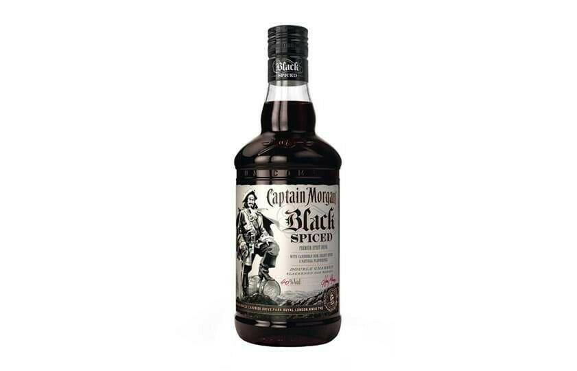 Image of   Captain Morgan Black Spiced* 1 Ltr