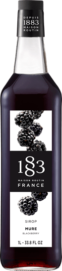 Image of   1883 Syrup Blackberry / Brombær 1 Ltr