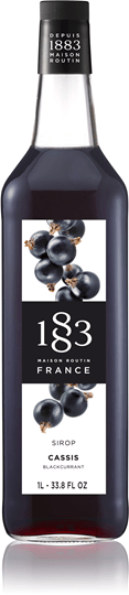 Image of   1883 Syrup Cassis / Solbær 1 Ltr