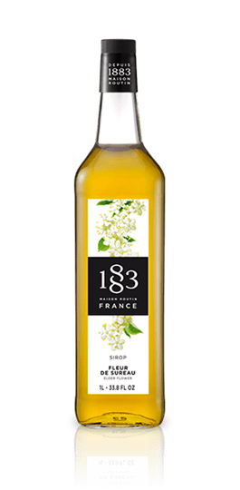 Image of   1883 Syrup Elderflower / Hyldeblomst 1 Ltr