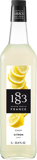Image of   1883 Syrup Lemon / Citron Fort 1 Ltr