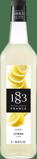 Image of 1883 Syrup Lemon / Citron Fort 1 Ltr