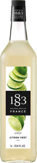 Image of   1883 Syrup Lime / Citron Vert 1 Ltr