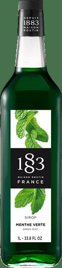 Image of   1883 Syrup Menthe Verte / Grøn Mint 1 Ltr