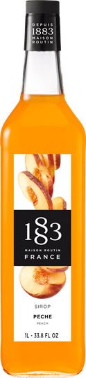 Image of   1883 Syrup Peach / Fersken 1 Ltr