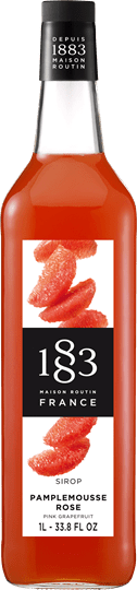 Image of   1883 Syrup Pink Grapefruit 1 Ltr
