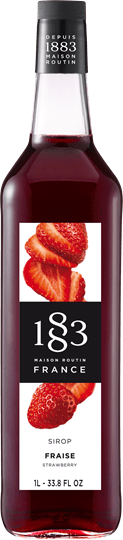 Image of   1883 Syrup Strawberry / Jordbær 1 Ltr