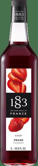 Image of 1883 Syrup Strawberry / Jordbær 1 Ltr