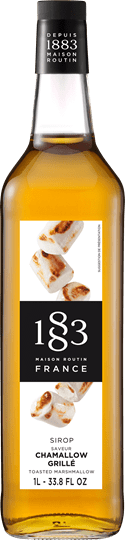 Image of   1883 Syrup Toasted Marshmallow / Skumfidus 1 Ltr