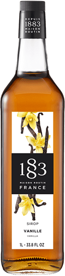 Image of   1883 Syrup Vanilla / Vanille 1 Ltr