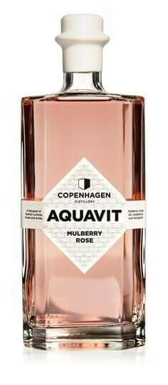 Image of   Copenhagen Distillery, Mulberry Rose Aquavit Fl 50