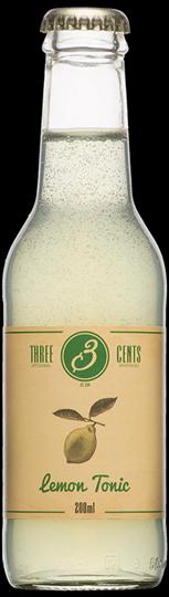 Image of   Three Cents Lemon Tonic 20 Cl