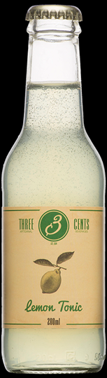 Image of   Three Cents Lemon Tonic 20 Cl