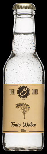 Image of   Three Cents Tonic Water 20 Cl