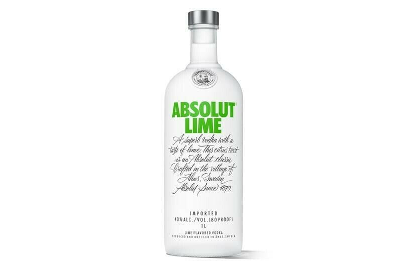 Image of   Absolut Vodka Lime Fl 70