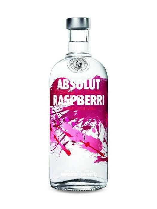 Image of   Absolut Vodka Raspberri* 1 Ltr
