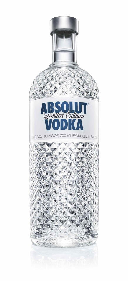 "Image of   Absolut Vodka Special Edition ""Glimmer"" Fl 175"