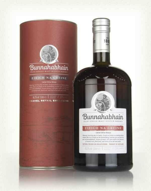 Image of   Bunnahabhain Eirigh Na Greine Islay Single Malt* 1 Ltr