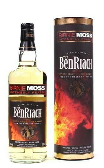"Image of   Benriach ""Birnie Moss"" Peated Single Malt Fl 70"