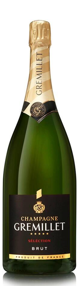 Image of   Gremillet Champagne Brut Sélection 0,7 liter5l