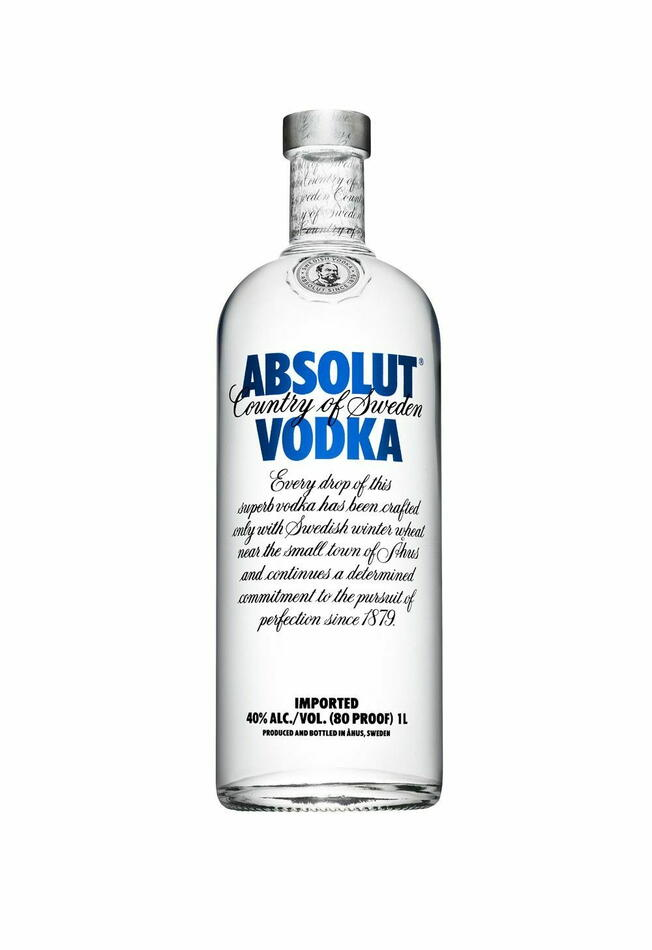 Image of   Absolut Vodka* 1 Ltr