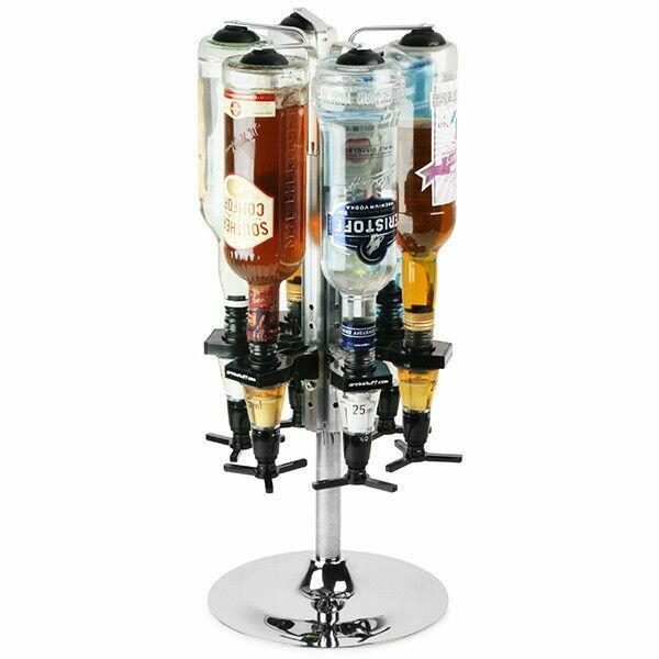 Image of   Roterende flaskeholder til 6 70cl / 1 liter