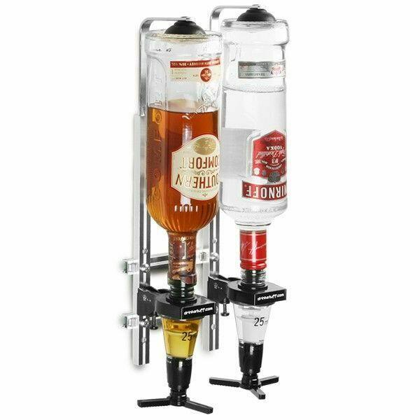 Image of   Flaskeholder Vægmonteret 2 70cl / 1 liter