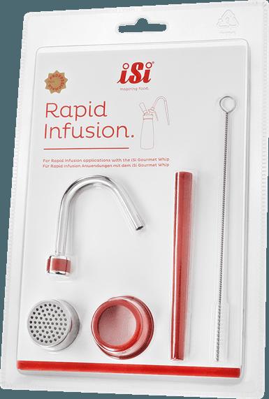 Image of   Isi infusionssæt til flødesprøjte