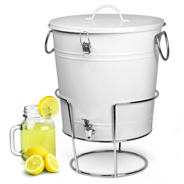 Image of   Drinks dispenser hvid 17,5L m/ stander