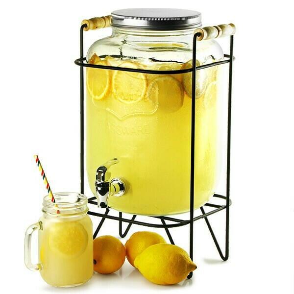 Image of   Drinks Dispenser med Stand 8ltr