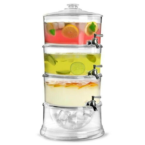 Image of   Saftevands Dispenser 3-delt