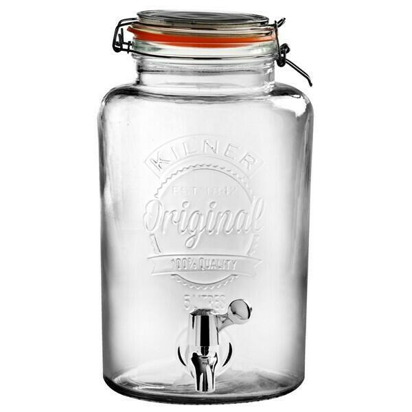 Image of   Drinks Dispenser 5L Kilner