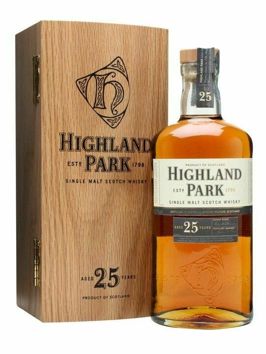 Image of   Highland Park 25 Yo Single Malt Scotch Fl 70